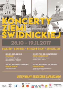 Plakat - Koncerty Ziemi Świdnickiej