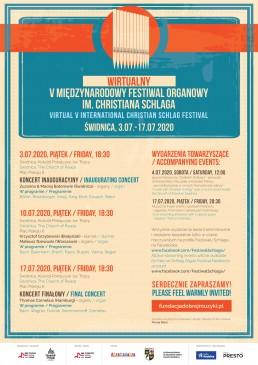 plakat festiwalu Schlaga 2020